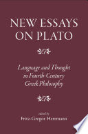 New Essays on Plato