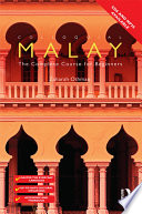 Colloquial Malay Ebook And Mp3 Pack