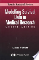 Modelling Survival Data in Medical Research  Second Edition