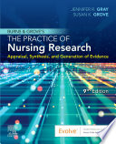 Burns And Grove S The Practice Of Nursing Research E Book