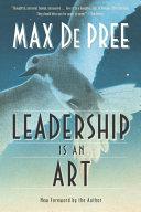 Leadership Is an Art [Pdf/ePub] eBook