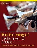 The Teaching of Instrumental Music Pdf/ePub eBook