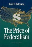 The Price of Federalism Pdf/ePub eBook