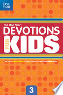 The One Year Devotions for Kids  3 Book