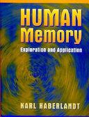 Pdf Human Memory
