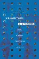 Ubiquitous Listening Pdf/ePub eBook