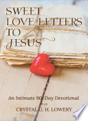 Sweet Love Letters to Jesus Book