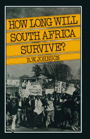 How Long Will South Africa Survive? [Pdf/ePub] eBook