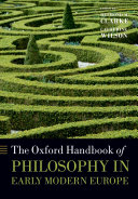 The Oxford Handbook of Philosophy in Early Modern Europe Pdf/ePub eBook