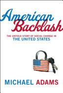 American Backlash Pdf