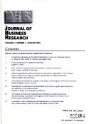 JOURNAL OF BUISNESS RESEARCH