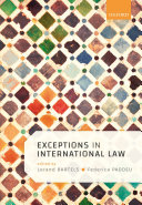 Exceptions and Defences in International Law
