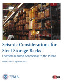 Seismic Considerations for Steel Storage Racks Located in Areas Accessible to the Public