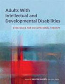 Adults With Intellectual and Developmental Disabilities