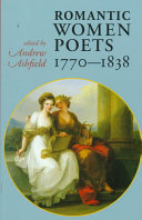 Romantic Women Poets, 1770-1838