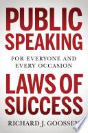 Public Speaking Laws of Success