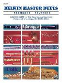 Belwin Master Duets Trombone  Advanced