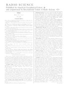 Radio Science Book PDF