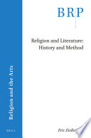 Religion and Literature  History and Method Book