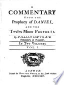 A Commentary Upon The Prophecy Of Daniel