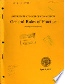 General Rules of Practice Book