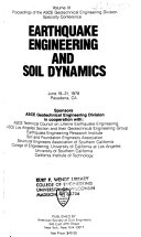 Earthquake Engineering and Soil Dynamics