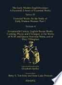 Seventeenth century English Recipe Books Book PDF
