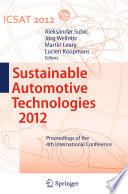 Sustainable Automotive Technologies 2012