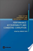 Performance Accountability And Combating Corruption