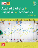 Applied Statistics in Business and Economics | Sixth Edition | SIE