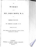 Works Of The Rev John Howe M A