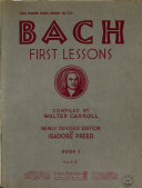 First lessons Book