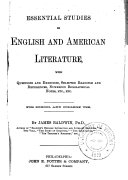Essential Studies in English and American Literature