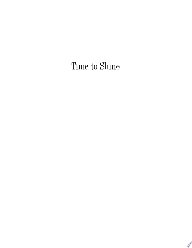 Time to Shine banner backdrop
