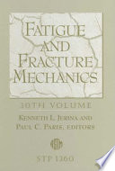 Fatigue and Fracture Mechanics