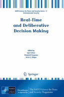 Pdf Real-Time and Deliberative Decision Making