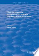Handbook of Phosphorus-31 Nuclear Magnetic Resonance Data (1990)