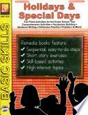 Holidays   Special Days