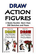 Draw Action Figures Book