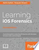 Learning Ios Forensics Book PDF