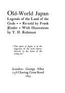 Old world Japan