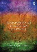 Enciclopedia de Ling    stica Hisp  nica