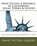 How To Get A Divorce In California Legal Forms Guides