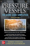 Pressure Vessels  The ASME Code Simplified  Ninth Edition