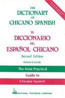 Diccionario Del Español Chicano