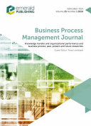 Knowledge Transfer and Organizational Performance and Business Process  Past  Present and Future Researches