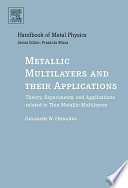 Metallic Multilayers and their Applications Book