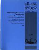 Instituting Resource Recovery Book