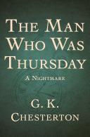 The Man Who Was Thursday [Pdf/ePub] eBook