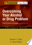 Overcoming Your Alcohol Or Drug Problem Book PDF